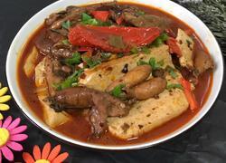 明太鱼籽炖豆腐