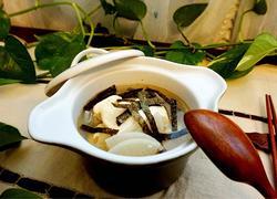 白萝卜豆腐