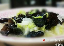鸡汁木耳烩白菜