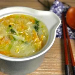 虾皮胡萝卜粉丝汤