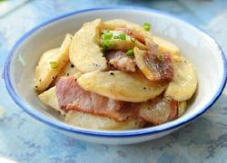 杏鲍菇培根沙拉
