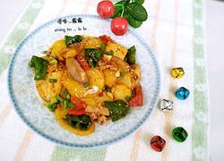 家庭版干锅土豆片