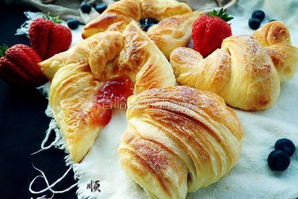 丹麦花式面包
