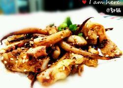 香烤鱿鱼须
