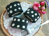 竹碳蛋糕卷的做法[图]