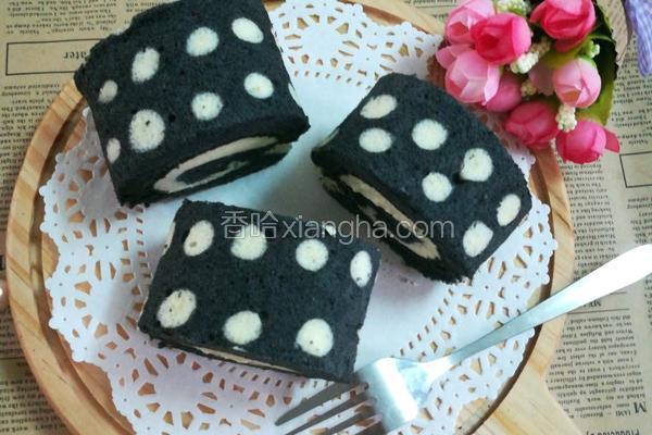 竹碳蛋糕卷