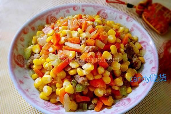 小炒玉米粒