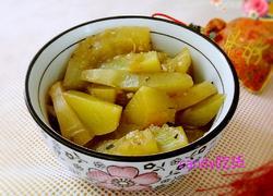 蒜粒豆豉炒南瓜