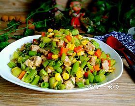 时蔬菜炒肉