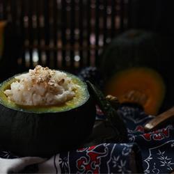 南瓜燕麦饭