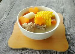 胡萝卜山药排骨汤