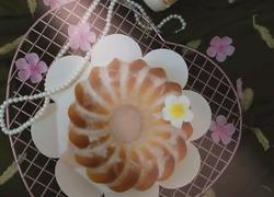 fluff焦糖萨瓦林戚风蛋糕