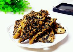 香煎芝麻豆腐