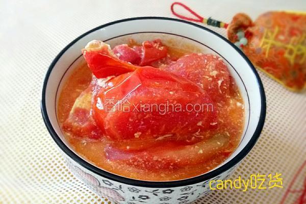 西红柿鸡蛋甜汤