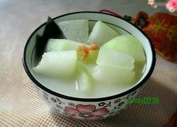 海带冬瓜虾米汤