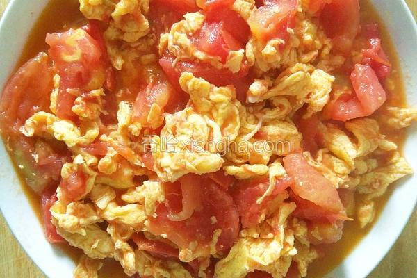 西红柿炒鸡蛋