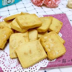 花生炼乳饼干