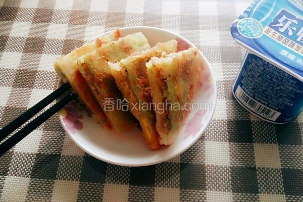蛋黄香酥饼
