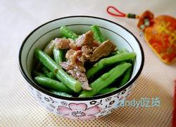 瘦肉炒豆角