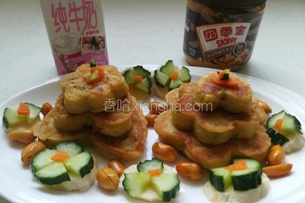 土豆腊肠什锦饼