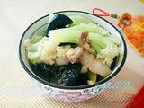 白菜花炒杂菜的做法[图]