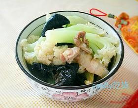 白菜花炒杂菜