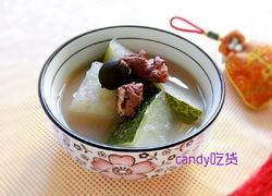 莲蓬消暑冬瓜汤