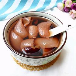 黑豆眉豆猪皮汤
