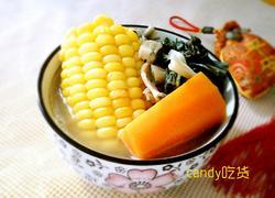 玉米扁鱼菜干汤