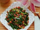 韭菜炒虾米的做法[图]