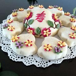 蔬菜汁寿桃(花馍馒头)