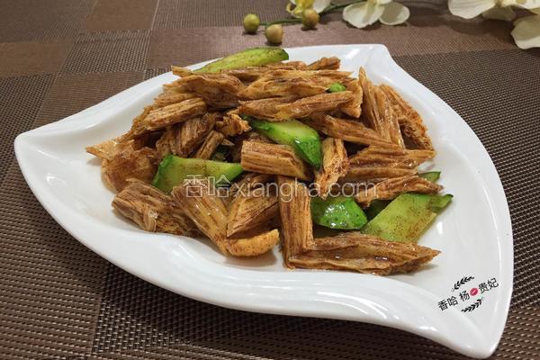 蟹籽炒腐竹