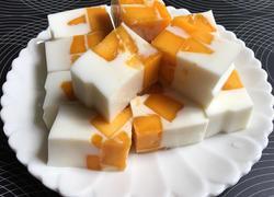 芒果椰汁冻