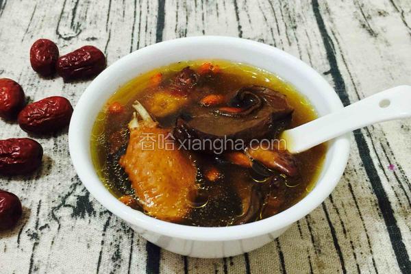 牛肝菌土鸡汤