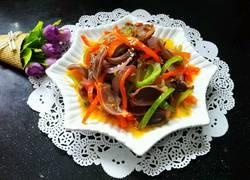 鱼香风味炒鸭胗