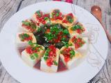 剁椒皮蛋拌豆腐的做法[图]
