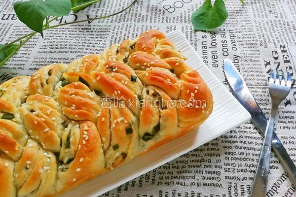 香葱辫子面包