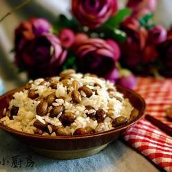 花芸豆焖饭