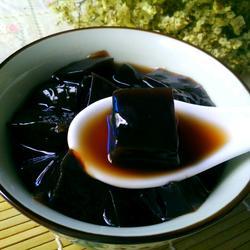 蜂蜜黑凉粉
