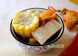 玉米猪骨粉葛汤