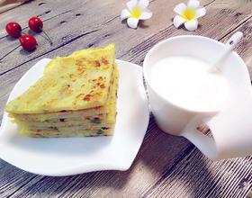 鸡蛋葱花饼