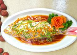 清蒸金丝鱼