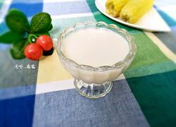 黏玉米黄豆浆