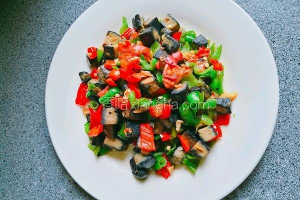 煎炒臭豆腐