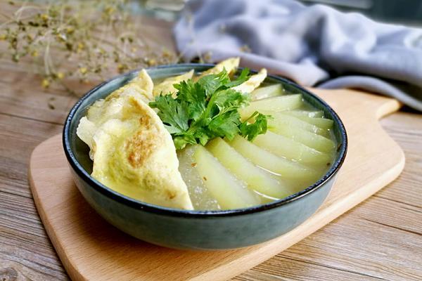 冬瓜烩蛋饺