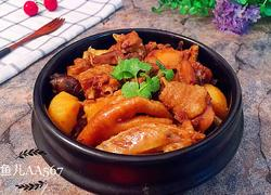 鸡块炖土豆