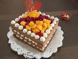 鲜果奶油裸蛋糕的做法[图]