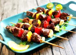 香烤牛肉串