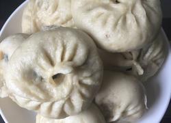 韭菜猪肉粉条包子