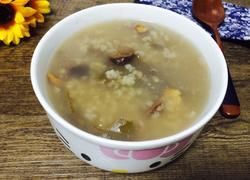 桃仁山楂粥